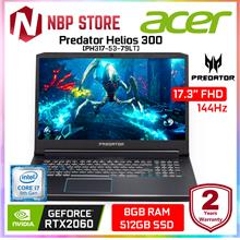 "Acer Predator Helios 300 PH317-53-79LT 17.3 "" FHD IPS 144Hz Gaming Laptop"