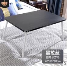 Black Hitam Bed Mini Home Office Desk laptop table ikea meja