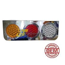 72LED Hino Trailer Truck Lorry Car Rear LED Chrome Tail Light Lamp (1PC)