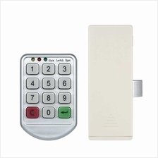 Electronic Password Keypad Cabinet Lock for Metal Door (2)