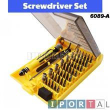 45 in 1 Handphone Mobile Phone Computer Repair Hand Tool Box Set Kit