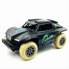 Racing RC Car Charging Remote Control Toy Car 2.4G Crawler (BLACK)