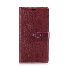 Huawei Y7 Prime Crocodile Leather Case Casing Cover