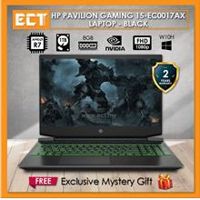 HP Pavilion Gaming 15-EC0017AX Laptop - Black