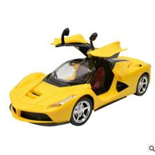 1:16 ferrari charging gravity sensor door remote control car lego