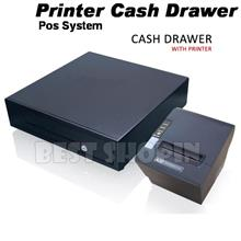 Cash Drawer+Thermal Receipt Printer 80mm Multi PC User (Network+USB)