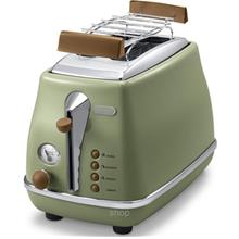 DeLonghi 2 Slices Toaster - CTOV-2103.GR)