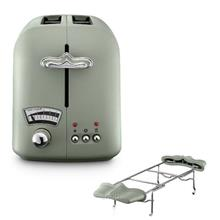 Delonghi Argento Flora 1.7L Toaster (Peppermint Green) - CT021.GR)