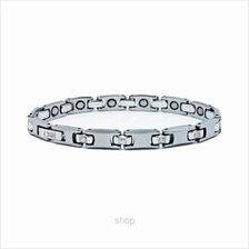 Criss Tungsten Carbide Bio Magnetic Bracelet for ladies with Zircons – TCZ 8