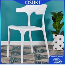 OSUKI Dining Chair Comfort Arm With Back Rest