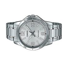 Casio Men Stainless Steel Date Watch MTP-V004D-7B2UDF