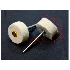 Felt Polish Wheel With 3mm Shank (10Pcs/Pack) (MSWFP3)