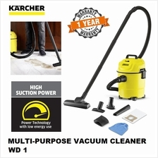 KARCHER WD1 MULTI-PURPOSE WET AND DRY VACUUM CLEANER