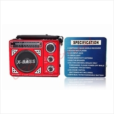 XB-202URT WAXIBA AM/FM/SW 3 BAND WORLD RADIO WITH USB/SD MP3 PLAYER