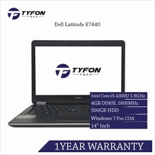 Dell Latitude E7440 i5 4GB RAM 500GB HDD Win 7 Laptop (Refurbished)