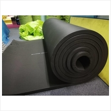 Rubber foam sound proof aluminium fire proof flexible insulation