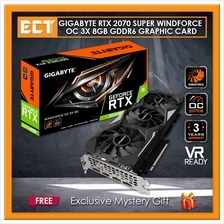 Gigabyte GeForce RTX 2070 Super WindForce OC 3X 8GB GDDR6 Graphic Card