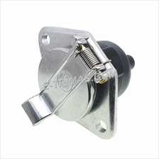 7 Way Female Car Van Trailer Heavy Duty Aluminium Towing Socket Connector Plug