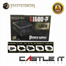 IMPERION G1600-P Mining 1600W Power Supply For BitCoin Mining GAMING SERIES (G