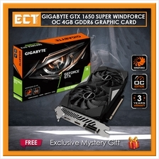 Gigabyte GeForce GTX 1650 Super WindForce OC 4GB GDDR6 Graphic Card