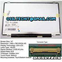 ACER HP COMPAQ LENOVO TOSHIBA 14.0 inch SLIM LED LCD Screen Panel