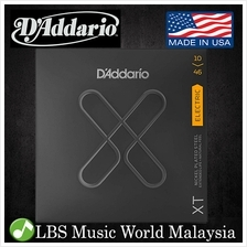 D'addario XTE1046 XT Nickel Plated Steel Electric Guitar String Regula