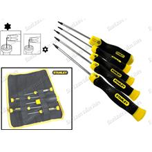 STANLEY 5PCS TORX STAR SCREWDRIVER SET T5-T15 (65155)