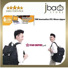 Star Empire Travel Business Notebook Backpack Water Resistant Office USB Light