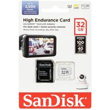 SANDISK ENDURANCE 32GB/64GB/128GB TF HC10 HIGH R100MB/S/40MB MEMORY CARD
