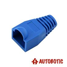 RJ45 CAT6/CAT5/5E Connector Rubber Boot Cover (Blue)