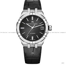 MAURICE LACROIX AI6007-SS001-330-1 Aikon Automatic 39mm Leather Black