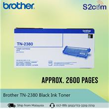 Brother Black Ink Toner (TN2380)