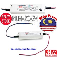 Mean Well PLN-20-24 20W 24V 0.8A LED Driver adjustable switching power supply