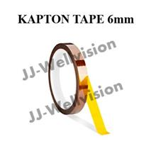 6mm x 33-meter Kapton Tape Polyimide Film with Silicone Adhesive