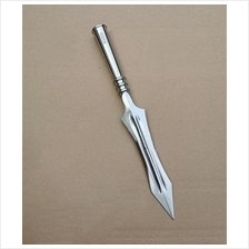 Spear Qiang Chinese Kung Fu Training Weapon Knife Blade Keris
