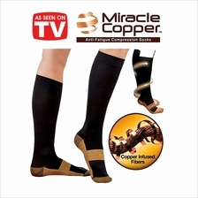Compression Socks Comfortable Relief Soft Unisex Miracle Copper Anti-F