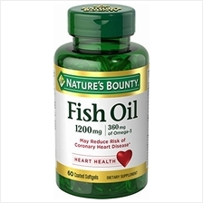 Nature's Bounty Fish Oil 1200 mg Omega-3 and Omega-6