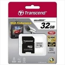 TRANSCEND ENDURANCE 32GB HC10 HIGH + ADAPTER SUPPORT UP TO 12000 HOURS RECORDI