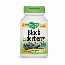 Nature's Way Black Elderberry 575 mg 100 VCaps (Packaging May Vary)