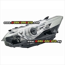 Toyota Vios NCP150 2013 Head Lamp TRD G Spec Chrome Projector Left Han