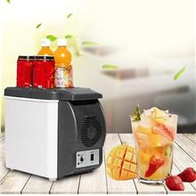 12V 6L Outdoor Mini Car Refrigerator Dual Use Portable Travel Freezer