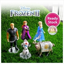 Frozen 2 Princess Anna Elsa Olaf Kristoff Sven Figures Toy Doll (5pcs)