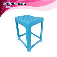 CHAHUA Plastic Chair Stools - 0838 Blue 1 pc
