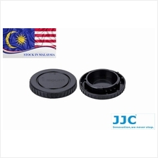 JJC L-R13 Rear Lens Cap and Body Cap for Nikon 1 Camera/Mount