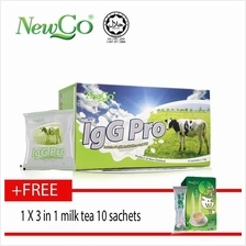 Newco IgG Pro Colostrum With Probiotic 15's Free 3 in 1 milk tea