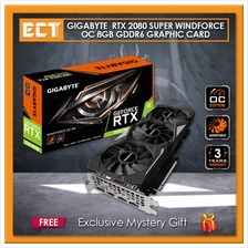 Gigabyte GeForce RTX 2080 Super WindForce OC 8GB GDDR6 Graphic Card
