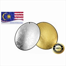 80cm Gold Silver 2 in 1 Collapsible Reflector