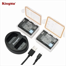 KingMa LP-E6 Camera Battery Charger Set For Canon