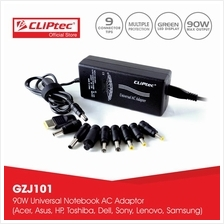 CLiPtec 90W Universal Notebook AC Adaptor-GZJ101)