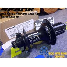 SPANK Hex J-Type Rear Hub 102T 32H